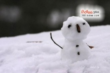 นี่นะหรือ ตุ๊กตาหิมะ