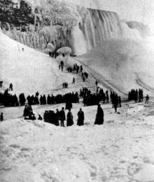 จุดเยือกแข็ง น้ำตก Niagara