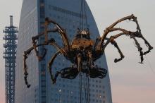 Giant Spider Takes Yokohama