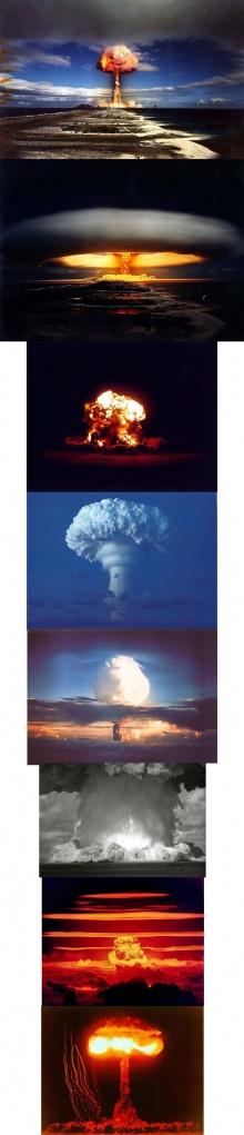 พลังนิวเคลียร์..สวยประหาร..!! เกือบ 100 ภาพ