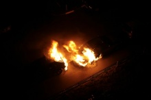 Fire on Cars