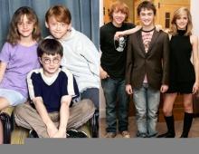 นักแสดงแฮร์รี่เมื่อหลายปีก่อน