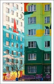 **~Colorful Building Art~**
