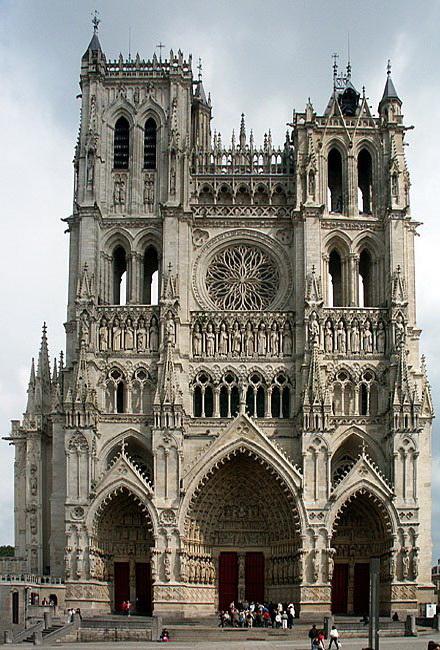 มหาวิหารโนเทรอดามแห่งอาเมียง ฝรั่งเศส