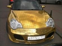 The Golden Porsche in Russia