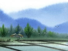 Chinese Paintings... Water Color