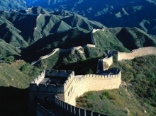 - The Great Wall of China -