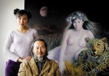 จิตรกรวัย 61 วาดภาพนู้ดลูกสาวตัวเอง (ภาพโป๊ไม่เหมาะสมกรุณาอย่านำขึ้นหน้าบอร์ด ขอบคุณค่ะ)
