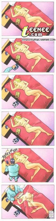 แอบดู เรื่องบนเตียงของผู้ชาย