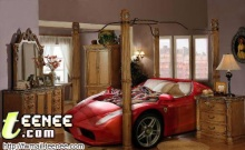 เตียงนอนหรู สำหรับคนบ้ารถ