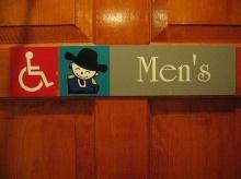 ป้ายห้องน้ำเก๋ๆ (ของต่างประเทศ)