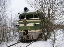 ภาพรถไฟในรัสเซีย