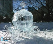 เทศกาลน้ำแข็งแกะสลักที่ New York