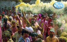 มาดู.! สีสัน..แห่งเทศกาล..การเล่นสี กัน