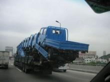 สุดยอดทักษะ การขนรถ