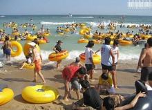 หาดคนล้น...ที่เกาหลี