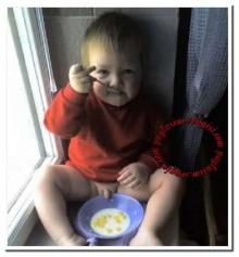 ***อย่าทานอาหารจานเดียวกับเด็ก***
