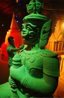~~~ Thailand Sand Sculptures ~~~