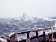 เรือหาอาหารทะเลในอลาสก้า