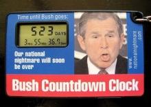 Bush Countdown Clock