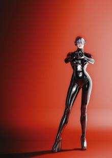 ROBOT GIRL...