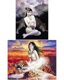 จิตรกรจีนตวัดพู่กันวาดรูปนู้ด ''ลูกสาว''