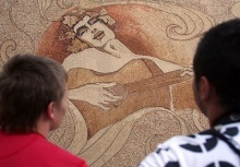 World's Biggest Cork Mosaic