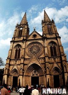 โบสถ์โบราณแห่งกว่างโจว!!
