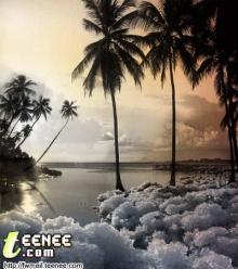 เมื่อโลกนี้ หนาวจนคลื่นน้ำทะเล กลายเป็นน้ำแข็ง