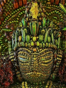 พระพุทธรูปเเมลง