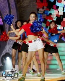 ลีลาเชียร์สาวกิมจิ