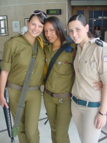 Israel Girl Soldiers