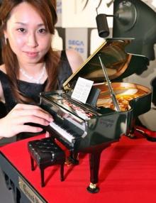 เปียโนหลังเล็กที่สุดในโลก