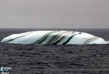 ลายของภูเขาน้ำแข็ง