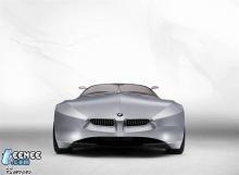 BMW GINA Light Visionary Model Concept ประติมากรรมต้นแบบสปอร์ตอนาคตสไตล์โรดสเตอร์