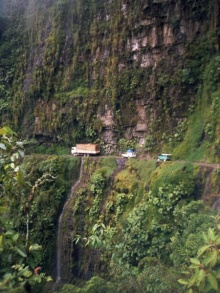 The North Yungas Road, Bolivia (1)