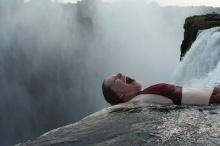 ว่ายน้ำที่ Victoria Falls