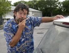 อารมณ์ศิลป์ของคนขี้เกียจล้างรถ