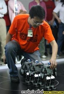 มาดู.! สุดยอด หุ่นยนต์ เต้น Hip Hop