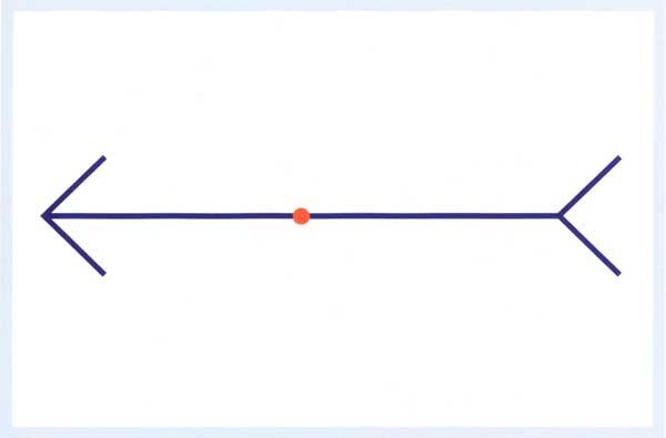 เส้นตรงเส้นไหนยาวกว่ากัน?
