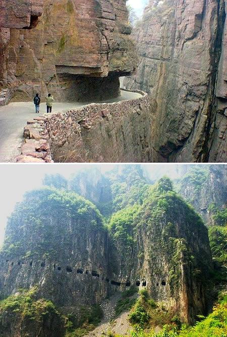 2: Guoliang Tunnel Road (China)