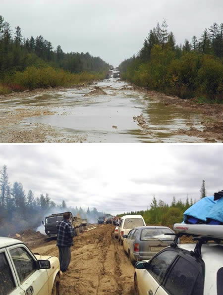 4: Siberian Road to Yakutsk (Russia)