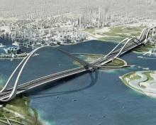 Arch Bridge in Dubai by 2012