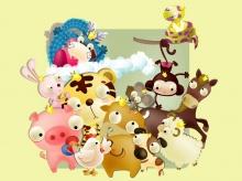 Chinese Zodiac Cartoon