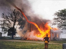 เสาเพลิงหมุน ( Fire Whirl )
