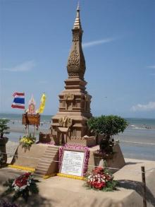 สวย อลังการ ปราสาททรายคนไทย (2)